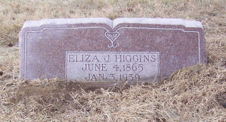 HIGGINS, ELIZA J. - Shelby County, Iowa | ELIZA J. HIGGINS