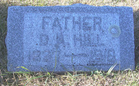 HILL, D. A. (FATHER) - Shelby County, Iowa | D. A. (FATHER) HILL