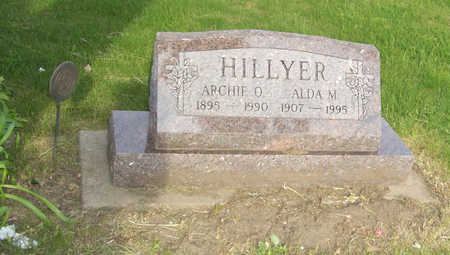 HILLYER, ARCHIE O. - Shelby County, Iowa | ARCHIE O. HILLYER