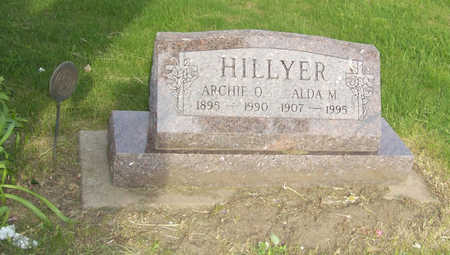 HILLYER, ALDA M. - Shelby County, Iowa | ALDA M. HILLYER