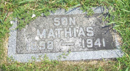 HOFFMANN, MATHIAS - Shelby County, Iowa | MATHIAS HOFFMANN