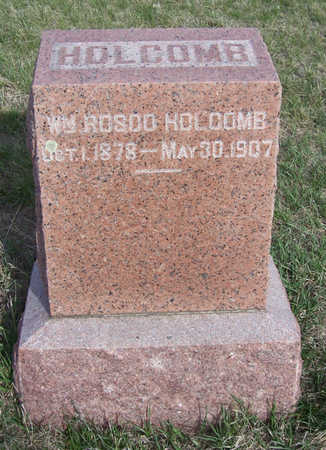 HOLCOMB, WM. ROSCO - Shelby County, Iowa | WM. ROSCO HOLCOMB