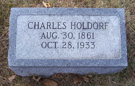 HOLDORF, CHARLES - Shelby County, Iowa | CHARLES HOLDORF