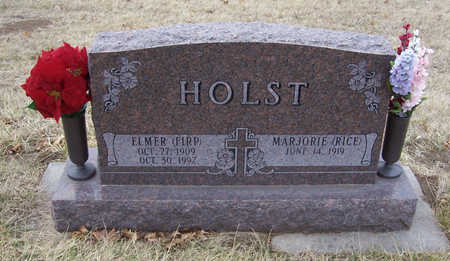 RICE HOLST, MARJORIE - Shelby County, Iowa | MARJORIE RICE HOLST