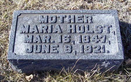 HOLST, MARIA (MOTHER) - Shelby County, Iowa | MARIA (MOTHER) HOLST