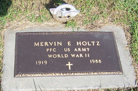 HOLTZ, MERVIN E. (MILITARY) - Shelby County, Iowa | MERVIN E. (MILITARY) HOLTZ