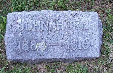 HORN, JOHN - Shelby County, Iowa | JOHN HORN