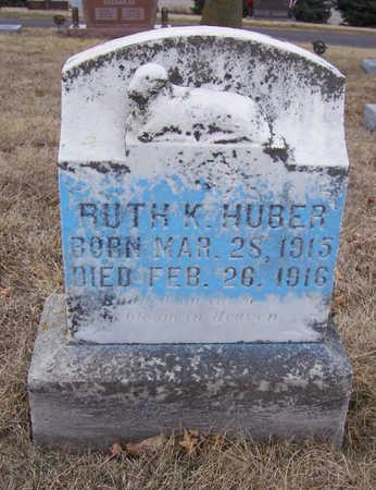 HUBER, RUTH K. - Shelby County, Iowa | RUTH K. HUBER