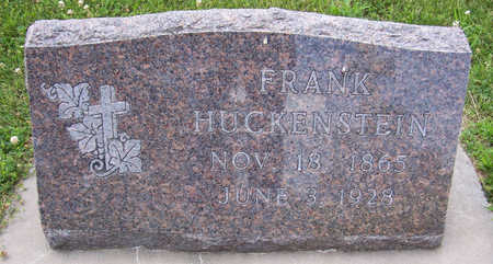 HUCKENSTEIN, FRANK - Shelby County, Iowa | FRANK HUCKENSTEIN