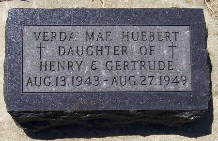 HUEBERT, VERDA MAE - Shelby County, Iowa | VERDA MAE HUEBERT