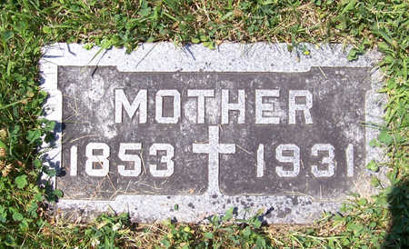 HUEBNER, BARBARA (MOTHER) - Shelby County, Iowa | BARBARA (MOTHER) HUEBNER
