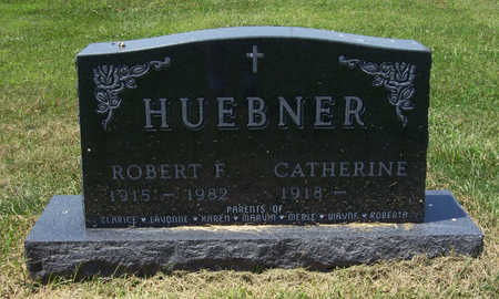HUEBNER, ROBERT F. - Shelby County, Iowa | ROBERT F. HUEBNER