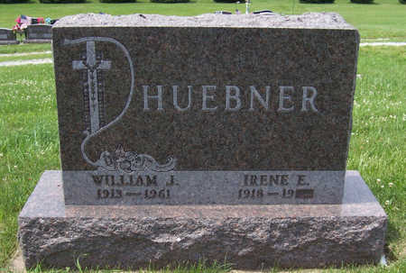 HUEBNER, WILLIAM J. - Shelby County, Iowa | WILLIAM J. HUEBNER
