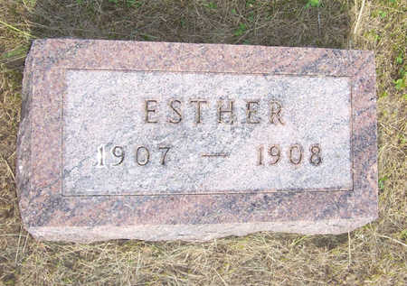HUGHES, ESTHER - Shelby County, Iowa | ESTHER HUGHES