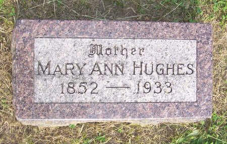 HUGHES, MARY ANN - Shelby County, Iowa | MARY ANN HUGHES