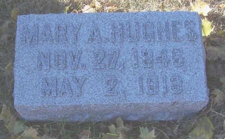 HUGHES, MARY A. - Shelby County, Iowa | MARY A. HUGHES