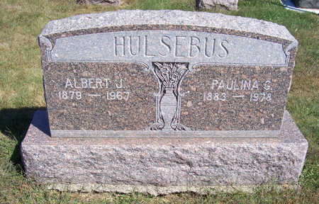 HULSEBUS, ALBERT J. - Shelby County, Iowa | ALBERT J. HULSEBUS