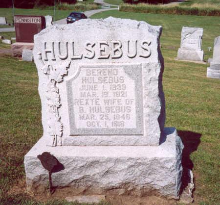 HULSEBUS, BEREND - Shelby County, Iowa | BEREND HULSEBUS