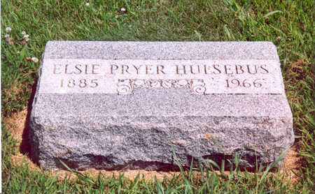 PRYER HULSEBUS, ELSIE - Shelby County, Iowa | ELSIE PRYER HULSEBUS