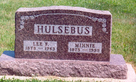 HULSEBUS, LEE F. - Shelby County, Iowa | LEE F. HULSEBUS