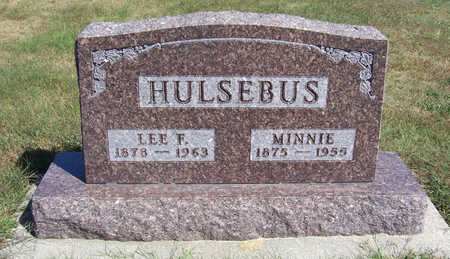 HULSEBUS, MINNIE - Shelby County, Iowa | MINNIE HULSEBUS