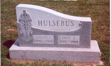 HULSEBUS, PAUL A. - Shelby County, Iowa | PAUL A. HULSEBUS