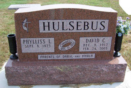 HULSEBUS, DAVID C. - Shelby County, Iowa | DAVID C. HULSEBUS