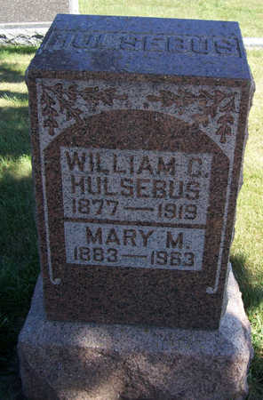 HULSEBUS, WILLIAM C. - Shelby County, Iowa | WILLIAM C. HULSEBUS