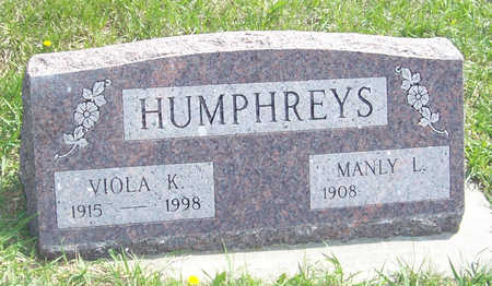 HUMPHREYS, VIOLA K. - Shelby County, Iowa | VIOLA K. HUMPHREYS