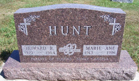 HUNT, HOWARD R. - Shelby County, Iowa | HOWARD R. HUNT