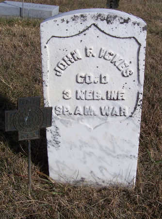 ICKES, JOHN F. (MILITARY) - Shelby County, Iowa | JOHN F. (MILITARY) ICKES