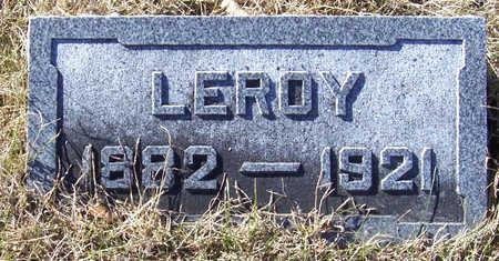 ICKES, LEROY - Shelby County, Iowa | LEROY ICKES
