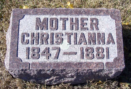 IVERS, CHRISTIANNA (MOTHER) - Shelby County, Iowa | CHRISTIANNA (MOTHER) IVERS