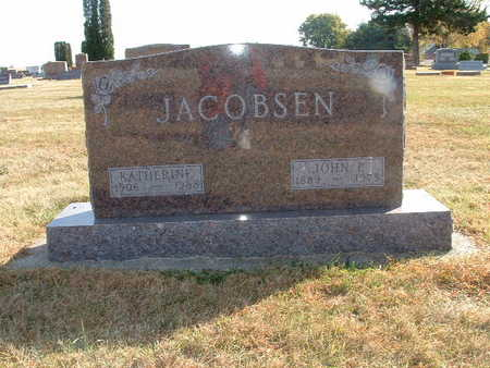 JACOBSEN, JOHN P - Shelby County, Iowa | JOHN P JACOBSEN