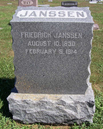 JANSSEN, FRIEDRICH - Shelby County, Iowa | FRIEDRICH JANSSEN