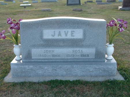 JAVE, ROSA - Shelby County, Iowa | ROSA JAVE