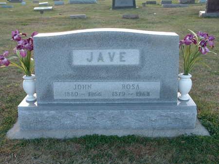 JAVE, JOHN - Shelby County, Iowa | JOHN JAVE