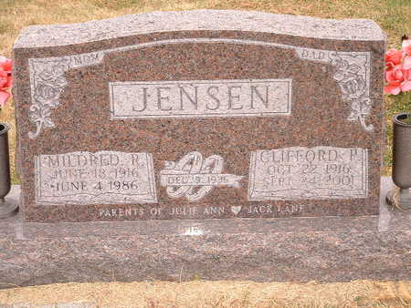 JENSEN, CLIFFORD P - Shelby County, Iowa | CLIFFORD P JENSEN