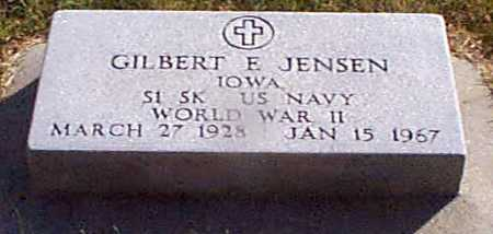 JENSEN, GILBERT  E - Shelby County, Iowa | GILBERT  E JENSEN