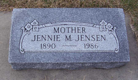 JENSEN, JENNIE M. (MOTHER) - Shelby County, Iowa | JENNIE M. (MOTHER) JENSEN
