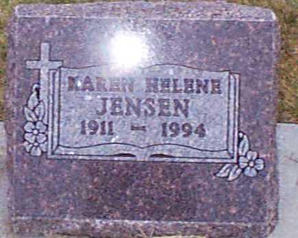 JENSEN, KAREN HELENE - Shelby County, Iowa | KAREN HELENE JENSEN
