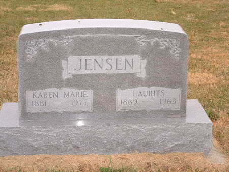 JENSEN, LAURITZ - Shelby County, Iowa | LAURITZ JENSEN