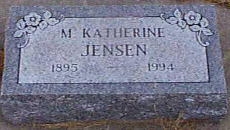 JENSEN, M KATHERINE - Shelby County, Iowa | M KATHERINE JENSEN