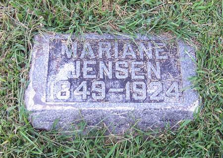 JENSEN, MARIANE - Shelby County, Iowa | MARIANE JENSEN