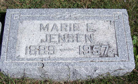 JENSEN, MARIE E. - Shelby County, Iowa | MARIE E. JENSEN