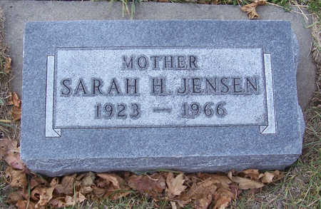 JENSEN, SARAH H. (MOTHER) - Shelby County, Iowa | SARAH H. (MOTHER) JENSEN