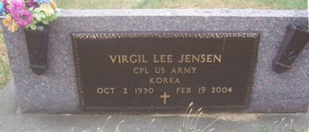 JENSEN, VIRGIL LEE (MILITARY) - Shelby County, Iowa | VIRGIL LEE (MILITARY) JENSEN