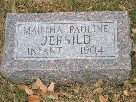 JERSILD, MARTHA PAULINE - Shelby County, Iowa | MARTHA PAULINE JERSILD