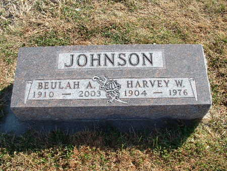 LARSEN JOHNSON, BEULAH A - Shelby County, Iowa | BEULAH A LARSEN JOHNSON