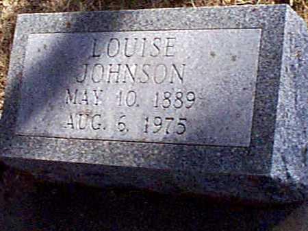 JOHNSON, LOUISE - Shelby County, Iowa   LOUISE JOHNSON